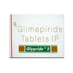 Glypride 2 Tablets, Packaging Type: Strip