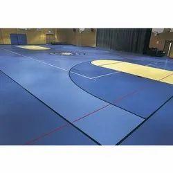 Indoor Basketball Court Construction