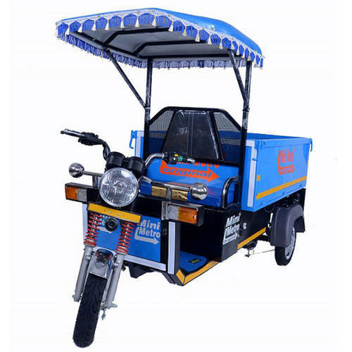 Mini Metro E Loader Battery Operated Loading Vehicle E Rickshaw