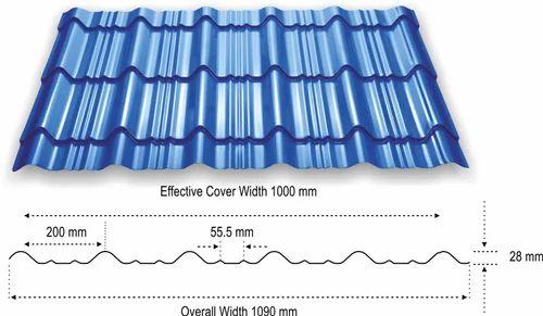 Tata Bluescope Durashine Roofing Sheet N R Steel