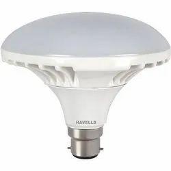 Warm White 2500 Lumens 30 W Havells Standard LED Bulb, Base Type: B22