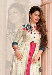 Kajal Style Mumtaz Vol 4 Partywear Anarkali Long Kurtis