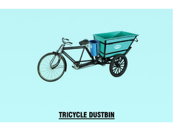 Tricycle Dustbin Rickshaw
