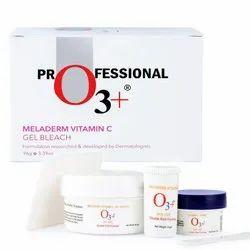 Red Berries O3 Meladerm Vitamin C Gel Bleach, For To Improve Skin Tone, Packaging Size: Cream Box