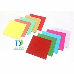 纯红色和粉红色手工纸