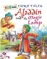 Kids Board Fairy Tales Aladdin And The Magic Lamp Book