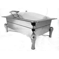 Grand Rect Lift Top Chafer 1/1 With Drum Stick Legs