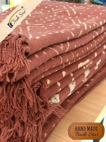 Authentic Cosy Blankets Indian Hand Block Print Sofa Throw Home Decor Mud cloth