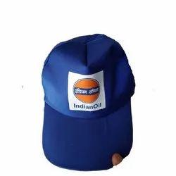 Blue Cotton Promotional Cap, Size: Free