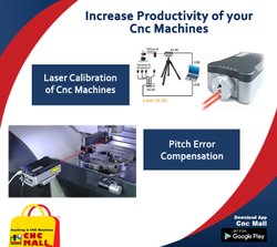 Laser Calibration Services for Cnc Machines Dmg Mazak Makino Haas Mori Seiki Okk Okuma Ycm Hartford