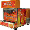 Multi Flavor Mobile Soda Vending Machines