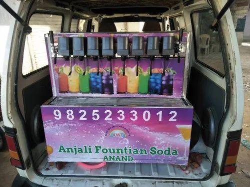 Fountain Soda Machine Van Model
