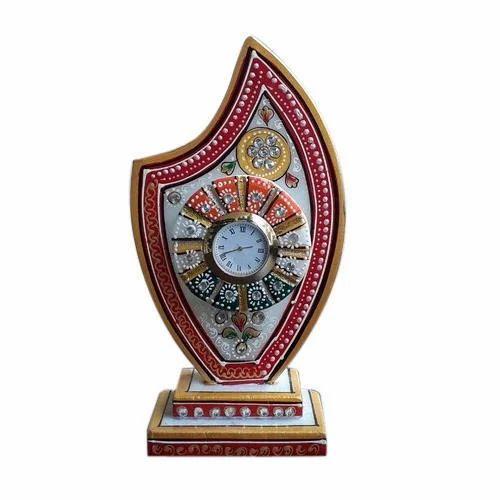 Marble Trophy Clock