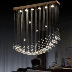 Designer Glass Chandeliers