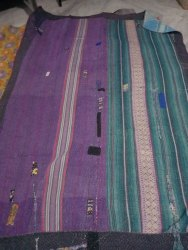 Maa Ambey Handmade Vintage Kantha Quilt