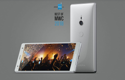 Sony Xperia XZ2 Mobile Phone, Memory Size: 6gb Ram