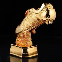 Shoe Brass Metal Trophy