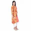 Lavanya Rayon Designer Side Layer Kurti