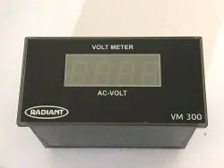 DIGITAL SINGLE PHASE AC VOLT METER