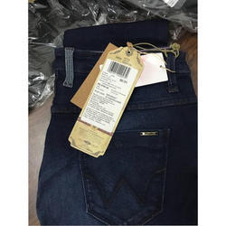 Blue Slim Fit ladies branded jeans