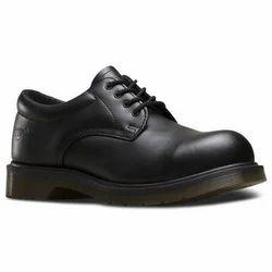 Bata Leather Black Safety Shoes, Size: 6 - 11