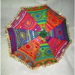 Embroidered Parasol Umbrella