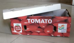 Kraft Paper Printed Tomato Export Carton Box