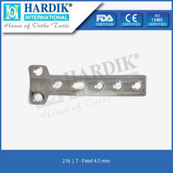 T - Plate 4.5mm