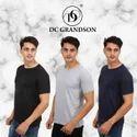 Plain T-Shirts 180 GSM Bio Wash DC Grandson