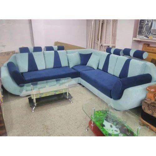 Designer Fabric Corner Sofa At Rs 32000