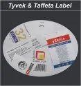 Tyvek Taffeta Labels