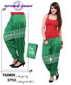 Pakistan Green Patiala Pant