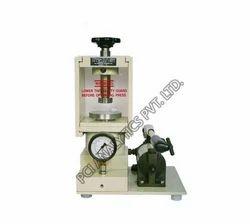 FTIR Hydraulic Pellet Press