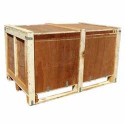 Edible Moisture Proof Export Wooden Box, Box Capacity: 1000-2000 kg, 16-25 mm