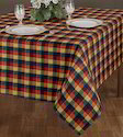Fancy Check Tablecloth