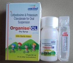 Cefpodoxime 100 Mg & Clavulanic Acid 62.5 Mg (Dry Syrup With 30 Ml Sterile Water)
