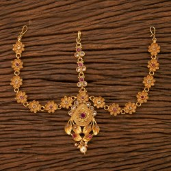 Classic Damini with Matte Gold Plating 24189