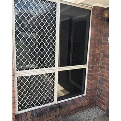 Powder Coated Aluminium Window Grill, For Home,Office, Rectangle