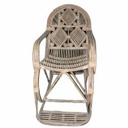 Modern Brown Cane Rocking Chair, Back Style: High Back