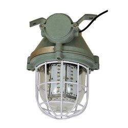 Flameproof Well Glass LED Fitting, Power: 230 VAC