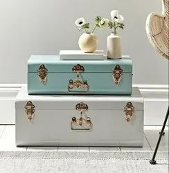 Metal Decorative Jewelry Boxes