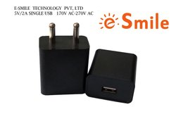 Black Electric 5V/2A Fast Mobile Charger, Model Number: EB2C0520A