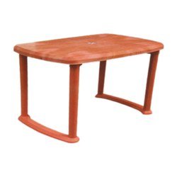 SHUBH Brown Plastic Dining Table, For Home,Office
