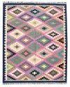 Rectangular Woven Designer Room 100% Cotton Floor Rug
