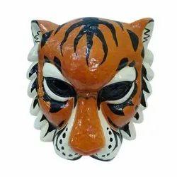 Paper Machie Tiger Mask