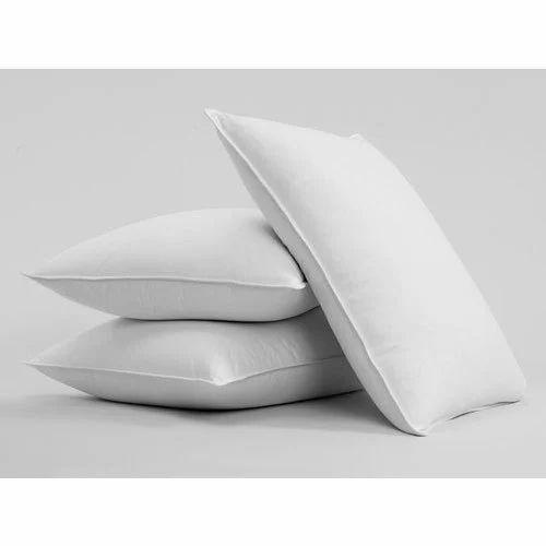 White Plain Polyester Fiber Pillow Rs 110 Piece Nice International Id 16566531233