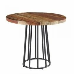 Reclaimed Wood Round Dinning Table