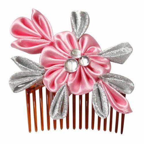 Pink flower hair clip hair clips amruta creations navi mumbai pink flower hair clip mightylinksfo