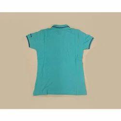 Half Sleeve Collar T Shirt Custom Corporate T-Shirt