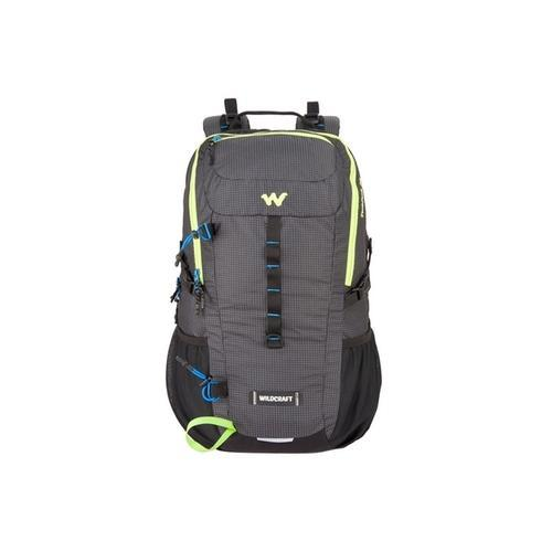 b1a4eafca14f Wildcraft Hiking Black Backpack Daypack 30L